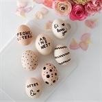Easter DIY: Last-Minute Ostereier bemalen
