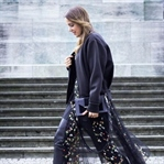 HOW TO WEAR A DRESS WITH PANTS: FLOWER PRINT, LEA