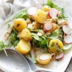 Kartoffelsalat mit Räuchersaibling
