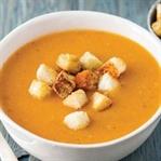 Közlenmiş Patlıcanlı Domates Çorbası