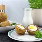 [Oster-Rezept] Frittierte Eier mit grüner Sauce