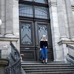 Outfit - Fransen Jeans und Carmen Bluse