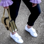 Outfit - Puma Basket Heart und Rüschen Pullover