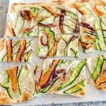 Schnelle Knusperpizza mit Filoteig