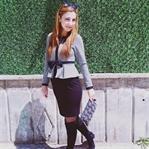 Siyah Kalem Elbise