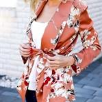 Spring to Summer - Floral Kimono Blazer