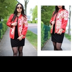 The Red Flower Jacket