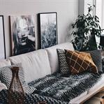 Unser Wohnzimmer || Desenio, Westwing & Sitzfeldt