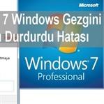 Windows 7 Windows  Çalışmayı Durdurdu Hatası
