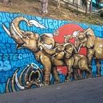 Auf Graffiti Tour in der Comuna 13
