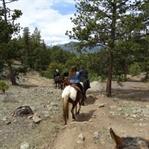 Colorado - Reiten in den Rocky Mountains
