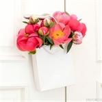 DIY Blumen-Bouquet in der Tüte