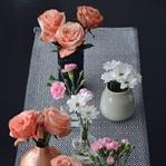 Drei Ideen mit Blumen zu dekorieren