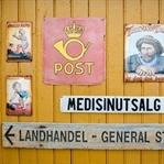 Ein alter Kaufmannsladen in Nusfjord (Lofoten)