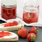 Erdbeer-Rosen-Marmelade
