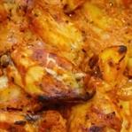 Fırında Yoğurt Soslu Tavuk Yemeği-Videolu Tarif