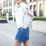 Jeansrock im Vokuhila Style