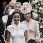 Kate Middleton Pippa Middleton'ın Düğününde