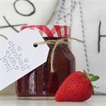 Köstliche Erdbeer-Mango-Marmelade mit Ingwer