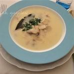 Kremalı Taze Mantar Çorbası