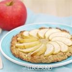 Kuchengenuss ohne Reue: himmlische Apfel-Pizza