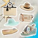 Must-Have des Sommers: Accessoires aus Bast