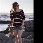 One Teaspoon Jeans Shorts and Stripes