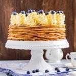 Palatschinken Torte mit Schokofüllung