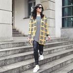 Print Chic Style mit Lederhose