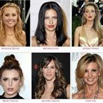 200 Ünlünün Saç Modeli Tek Sayfada