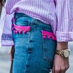 Trend watch : Jeans mit Bommeln