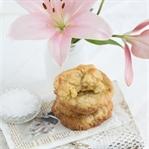 """""""Cookies mit weißer Schokolade, Mandeln & Meersalz"""