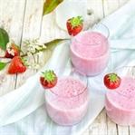 Erdbeer-Vanille-Milchshake