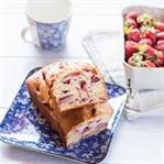 Erdbeeren Quickbread