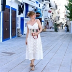 Ibiza Outfit | Weißes Spitzenkleid