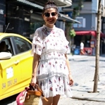 Istanbul Day I - Embroidered Dress & Yellow Cabs