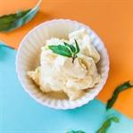Kalorienarmes Ananas Eis rezept ohne Eismaschine