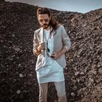 Outfit | Boho-Style mit hellem Anzug