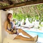 Outfit Ibiza | Rückenfreies Sommerkleid Boho Stil