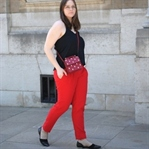 Outfit: Red Pants