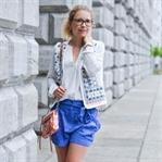 Outfit: Weiß und Azurblau - Ibiza Vibes
