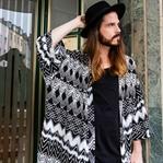 Outfit | Welcome Summer: Azteken-Kimono und Shorts