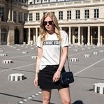Paris Outfit - Parisian Girl in Black & White