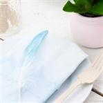 Servietten in Pastell färben