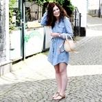 Summer Vibes mit Jeanskleid