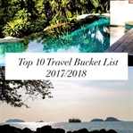 Top 10 Travel Bucket List