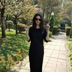 Uzun Siyah Elbise Kombinim