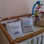 Bebek Odalarına Nakış Yastık Trendi