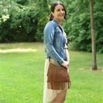 Denim Look – Jeansjacke trifft auf Vokuhila-Kleid