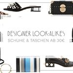 DESIGNER LOOK-ALIKES – SCHUHE & TASCHEN AB 30€